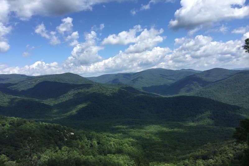 Great hikes begin in the Blue Ridge Mountains near Charlottesville